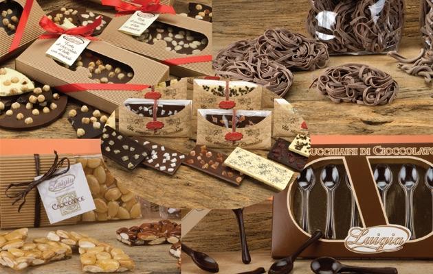 Cioccolata, Croccante, Pralinat, Torrone